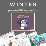 Winter Preschool Unit