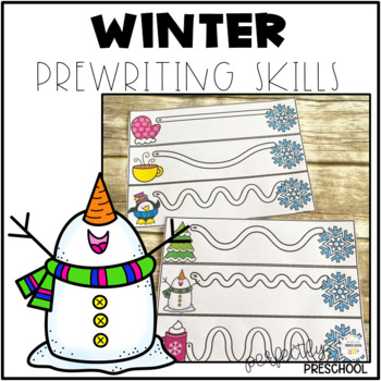Winter Prewriting Skills {Dollar Deal}