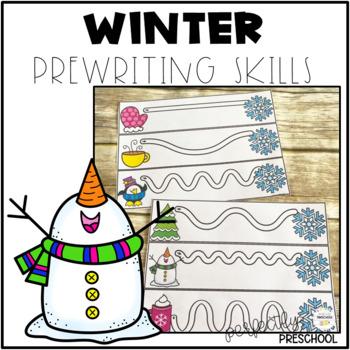 Winter Prewriting Skills