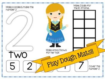 Winter Princess Themed Number Sense Unit