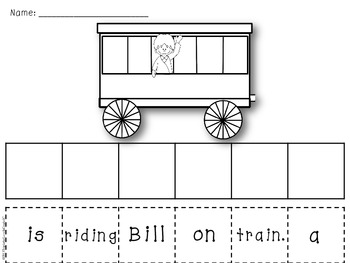 Winter Print & Go Pack - ELA & Math Printables