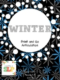 Winter Print and Go Articulation