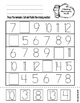 """Winter """"Print and Go"""" Math and Literacy Worksheets- No Prep!"""
