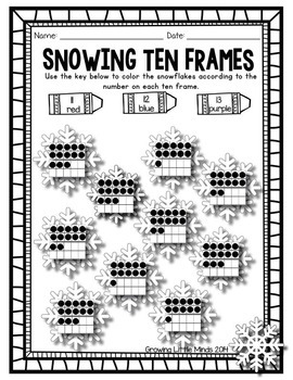 Winter Print and Go Printables