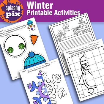 Winter Printable Activities
