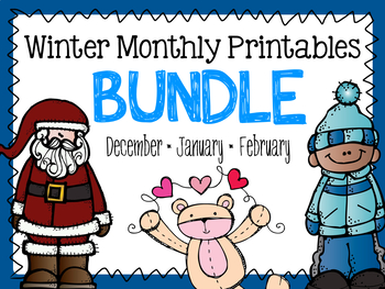 Winter Printable BUNDLE