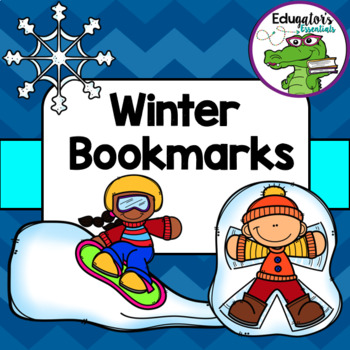 Winter Printable Bookmarks