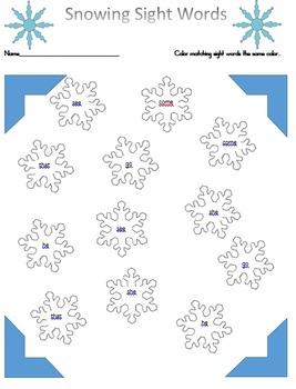Winter Printable Bundle, Emergent Readers, math center, math , language