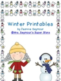 Winter Printables
