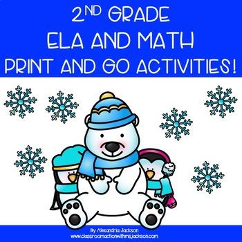 Winter Printables- 2nd Grade
