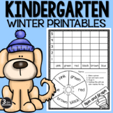 Winter Printables {Kindergarten}