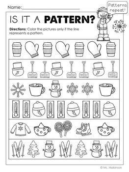 Winter Printables - Literacy, Math, & Science
