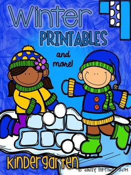 Winter Printables (and more) for Kindergarten