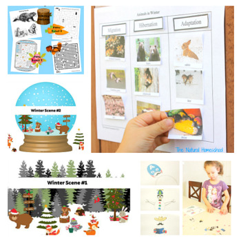 Winter Printables for Kids – Bundle 1  eBook