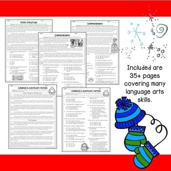 Winter Printables for Language Arts