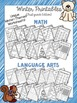 Winter Printables for Math and Language Arts {First Grade Edition}