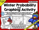 Winter Probability and Graphing Activity: Hands-On Math for 2nd/3rd Graders