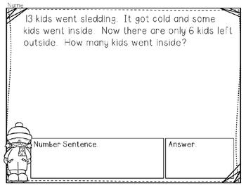 Winter Problem Solving Practice