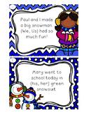 Winter Pronoun Shuffle