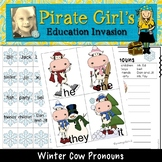 Winter Pronouns Game