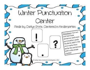 Winter Punctuation Center