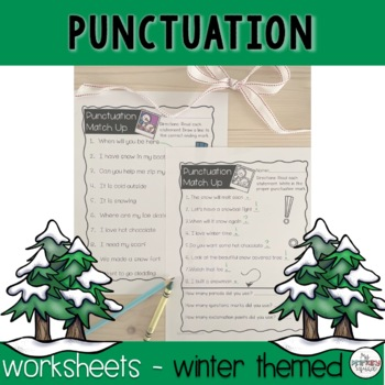 Winter Punctuation Pack