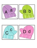 Winter Literacy Letter Match Puzzle
