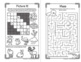 Winter Puzzles BUNDLE - includes grades K-5