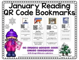 January QR Code Bookmarks with Comprehension Questions