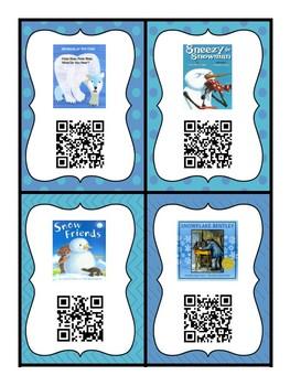 Winter QR Code Books