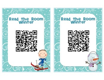 Winter QR Code - Read the Room