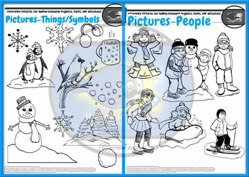 Winter Quick Coloring Pages- Winter, Christmas, Hanukkah, Kwanzaa and More!