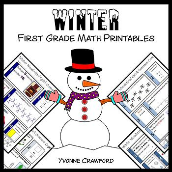 Winter No Prep Common Core Math (1st grade)