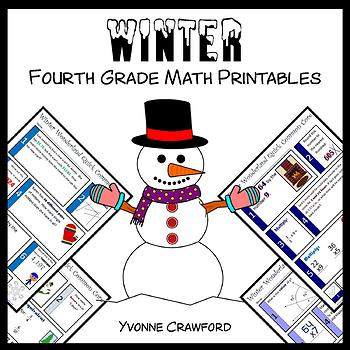 Winter No Prep Common Core Math (4th grade)