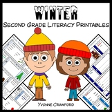 Winter No Prep Common Core Literacy (2nd grade)