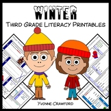 Winter No Prep Common Core Literacy (3rd grade)