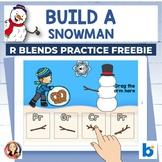 Winter R Blends Activities Digital Boom Task Cards