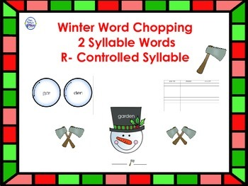 Winter R-Controlled Syllables