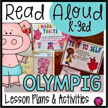 Character Traits Read Aloud Book Activities for OLYMPIG