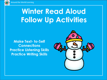 Winter Read Aloud Follow-Up Activities