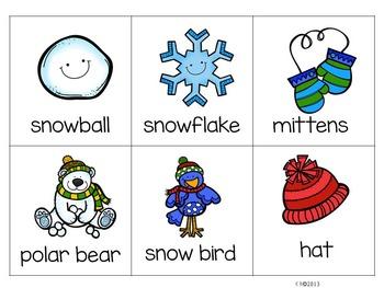Winter - Read, Write, Build {Simple Sentences}