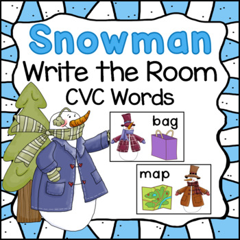 Write The Room With CVC Words
