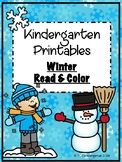 Winter Read and Color {Kindergarten}