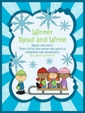 Winter Read and Write