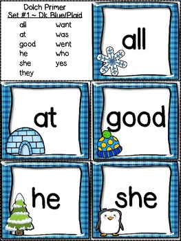 Winter Read and Write the Room Dolch Primer Sight Words {Kindergarten}
