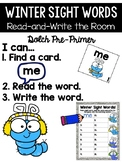Winter Read and Write the Room {Kindergarten}