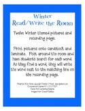 Winter Read and Write the Room