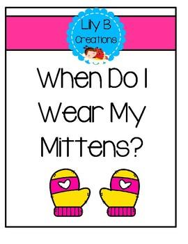Winter Reader - When Do I Wear My Mittens?