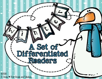 Winter Readers for Differentiation