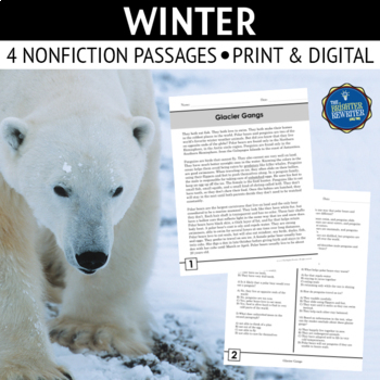 Polar Bears Reading Passages And Worksheets Teachers Pay